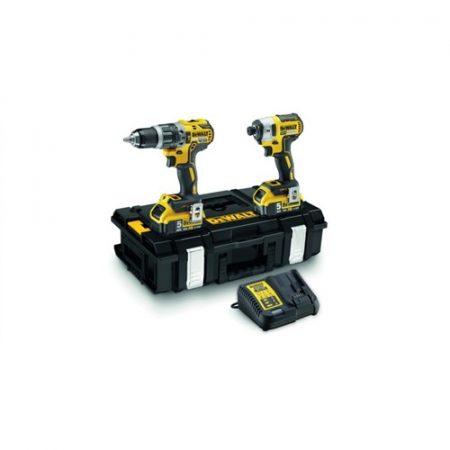 18V-os XR Li-Ion Combopack (DCD796 ütvefúró és  DCF887 ütvecsavarozó)+ DS150 Tough System