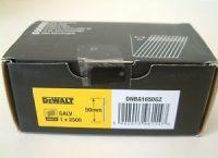 Dewalt 16GA 20 DEG FINISH NAIL 50MM GALV 2.5M