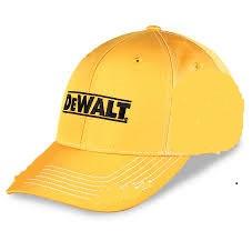 DeWALT Baseball sapka - 6-os - sárga