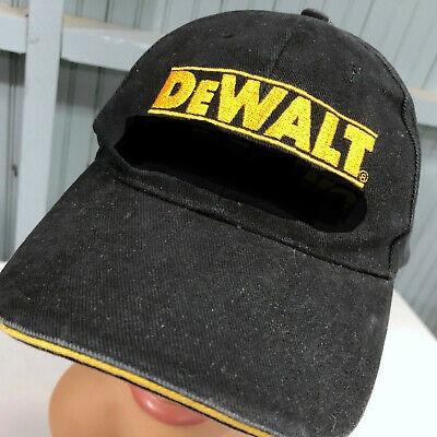 DeWALT Baseball sapka - 6-os - csíkos/fekete