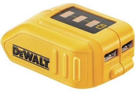 USB átalakító DEWALT XR-Litium-ION akkumulátorhoz
