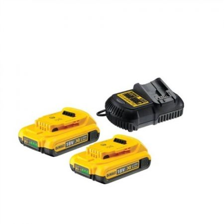 XR 10.8-18V akkumulátor töltő + 2db DCB183-XJ Akku
