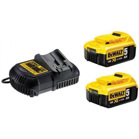 XR 10.8-18V akkumulátor töltő + 2db DCB184-XJ Akku