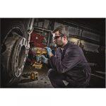 """DeWALT Akkus 18V ütvecsavarozó 1/2"""" gyűrűs rögzítéssel 950 Nm 2db 5.0Ah XR Li-Ion akku + TSTAK koffer"""
