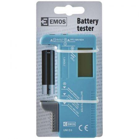 Elem teszter - Emos - LCD - N0322