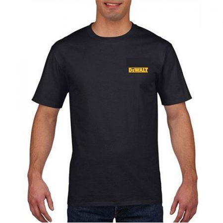 DeWALT  póló  fekete -  L -  Gildan
